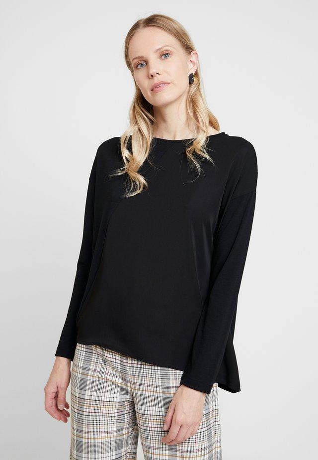 KLEDI - Camiseta de manga larga - black