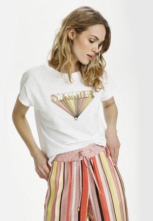 KASUMMER - Print T-shirt - summer front print - rose col