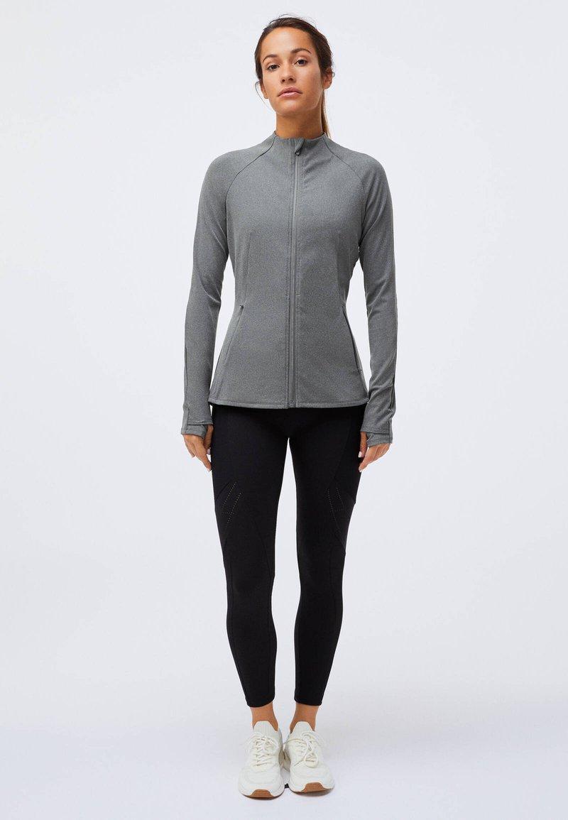 OYSHO - Training jacket - light grey