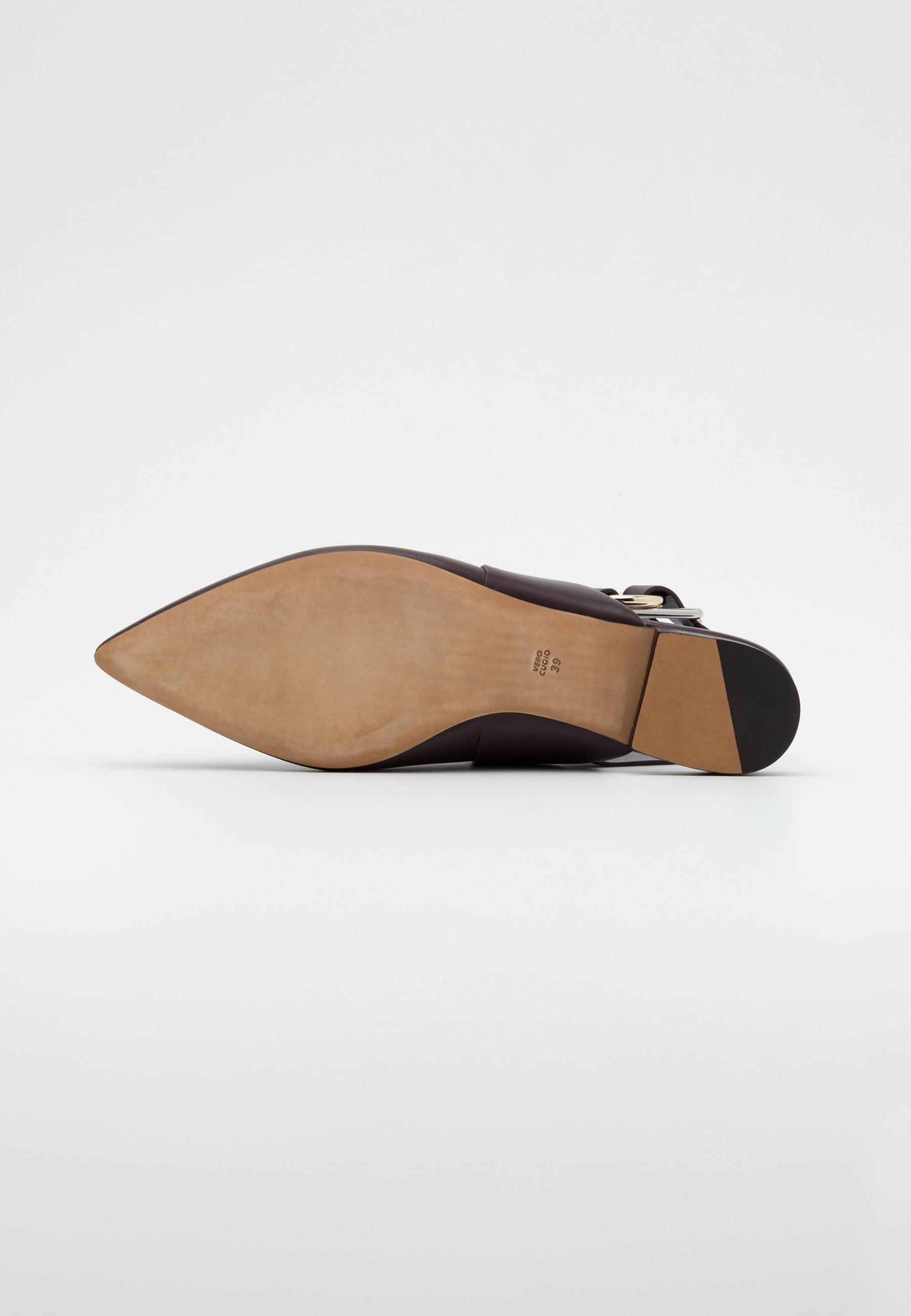 3.1 Phillip Lim Deanna Folded Pointy Flat - Loafers Wine