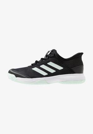 ADIZERO CLUB - Zapatillas de tenis para tierra batida - core black/green/footwear white