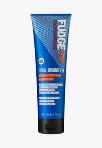 Fudge - COOL BRUNETTE BLUE-TONING SHAMPOO - Shampoo - - - 0