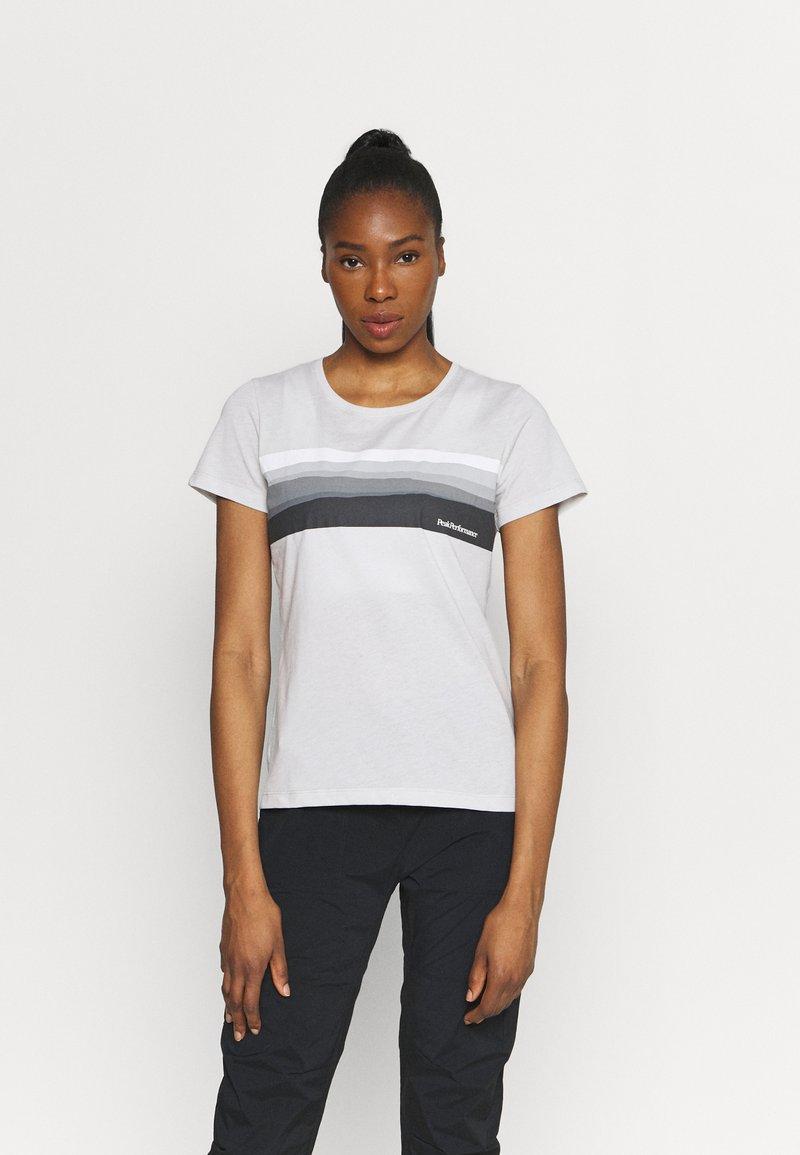 Peak Performance - EXPLORE HORIZON TEE - Print T-shirt - antarctica
