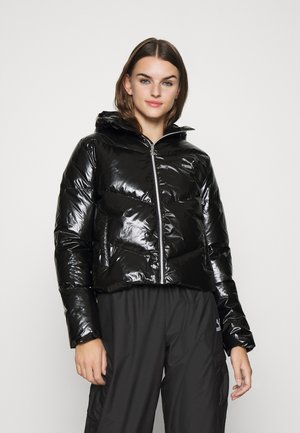 CLASSICS SHINE JACKET - Down jacket - black