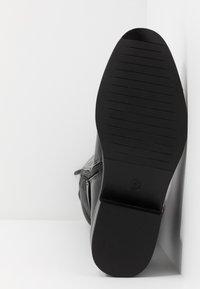 Dorothy Perkins - KIKKA FORMAL RIDING BOOT STRETCH BACK - Boots - black - 6