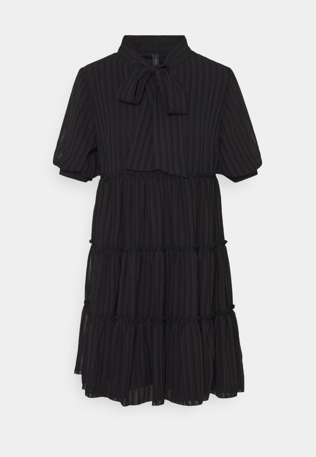 YASBALO DRESS - Korte jurk - black
