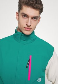 The North Face - GRAPHIC COLLECTION - Sudadera - vintage white/fanfare green/mr. pink - 3