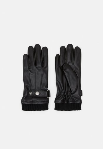 JACJOEY GLOVES - Gloves - black