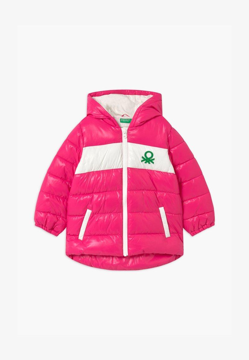 Benetton - Winterjas - pink