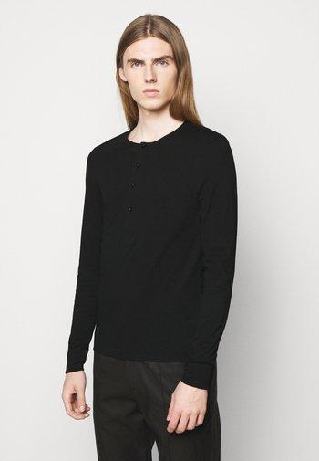 CAPPE - Long sleeved top - black