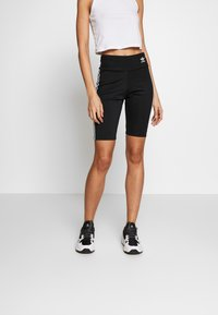 adidas Originals - ORIGINALS HIGH WAISTED TIGHTS - Shorts - black/white - 0
