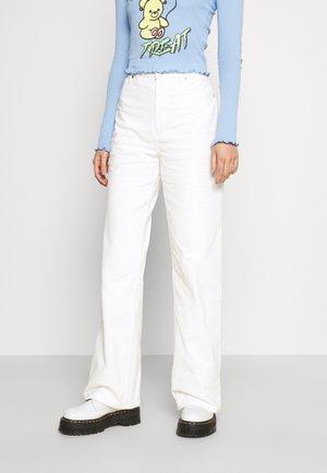 Spodnie materiałowe - white light