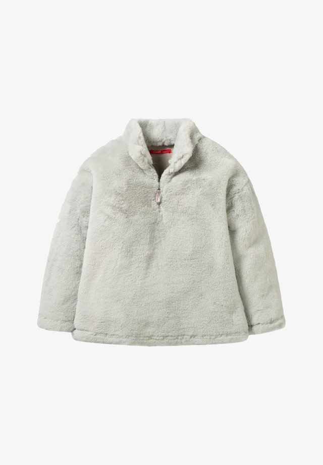 Fleece trui - light grey