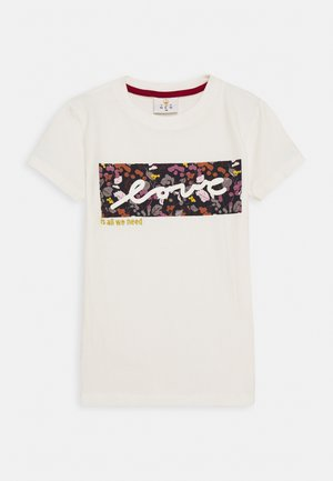 RUBBA TEE - T-shirts print - cloud dancer