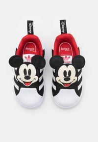 adidas Originals - SUPERSTAR 360 UNISEX - Trainers - core black/footwear white/vivid red - 3