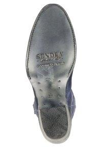 Sendra - Cowboy-/Bikerlaarzen - blauw - 3