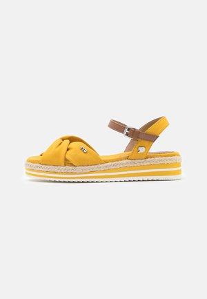 Espadrilky - yellow