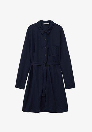 GEMMA - Shirt dress - dunkles marineblau