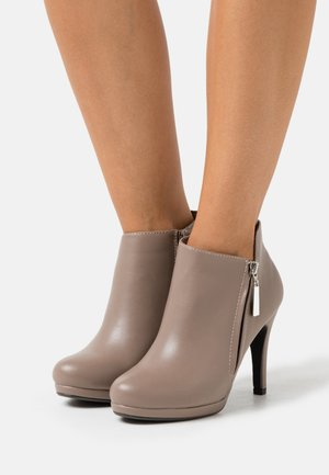 ACER - High heeled ankle boots - neutral