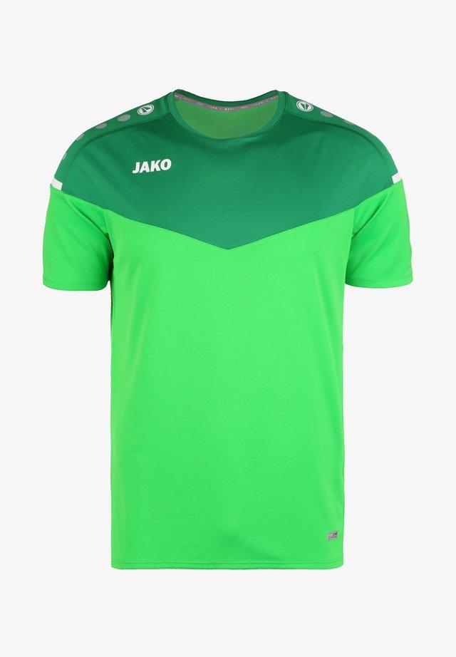 CHAMP - T-shirt con stampa - soft green / sportgruen