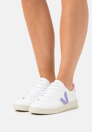 VEGAN URCA - Sneakers laag - white/lavande/sari