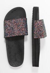 flip*flop - POOL SHIMMER - Pantofle - black - 3