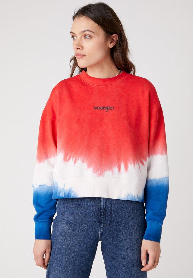 BOXY RETRO - Sweter - wrangler blue