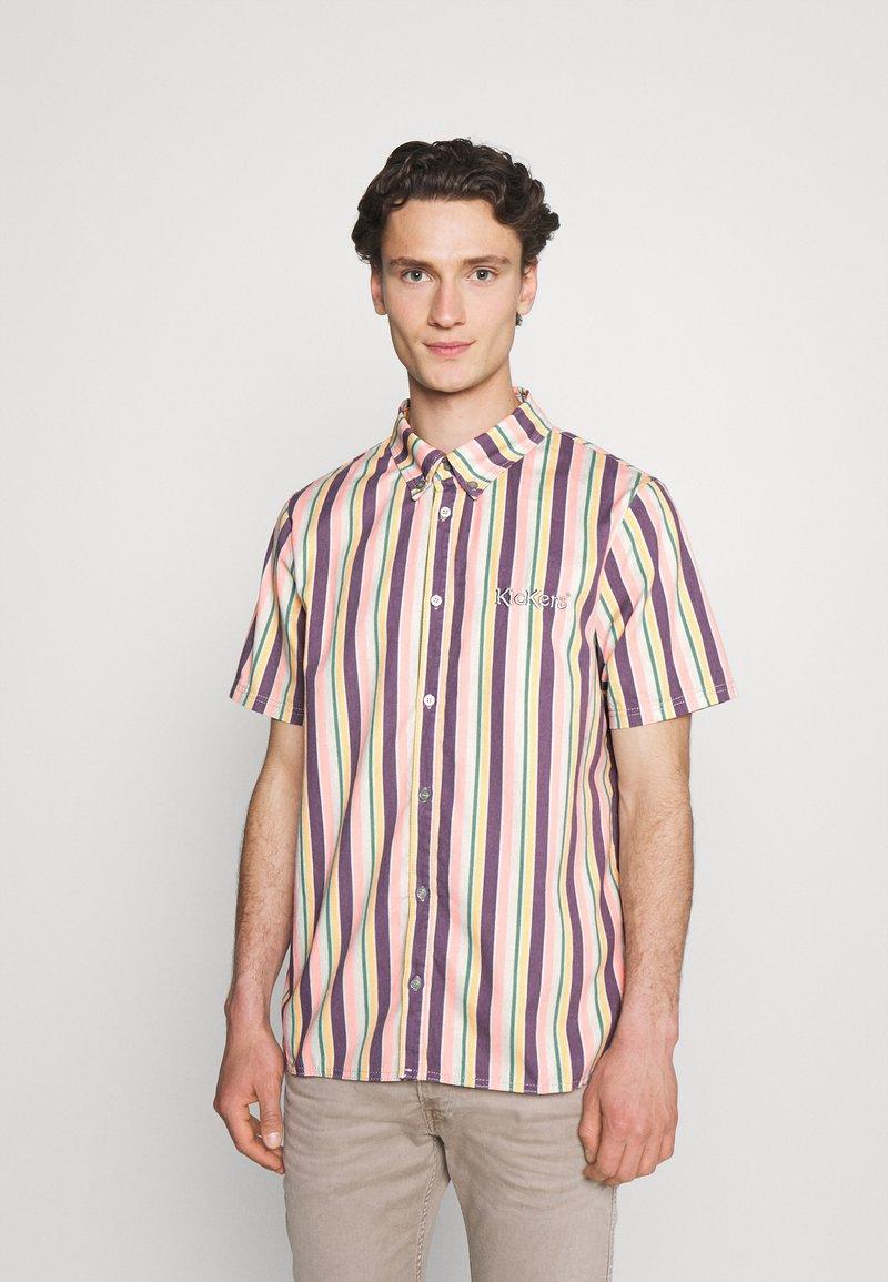 Kickers Classics - VERTICAL STRIPE SHORT SLEEVE SHIRT - Shirt - multi-coloured