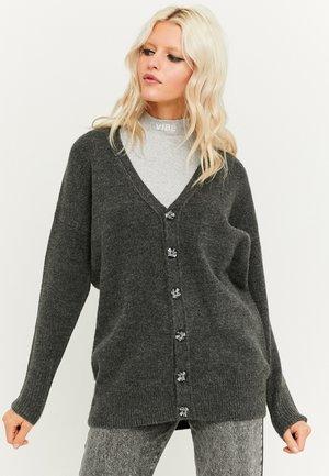 MIT V- AUSSCHNITT - Cardigan - grey