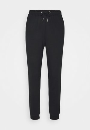 REGULAR FIT JOGGERS - Pantaloni sportivi - black