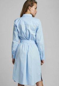 Nümph - NUDAIJA DRESS - Shirt dress - airy blue - 1