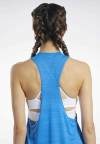 Reebok - WORKOUT READY ACTIVCHILL TANK TOP - Top - blue - 3