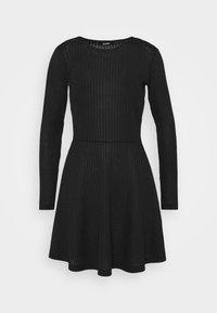 Zign - Jersey dress - black - 4