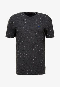 Scotch & Soda - CLASSIC CREWNECK TEE - T-shirt print - black - 3