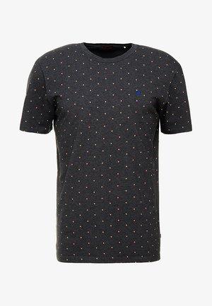 CLASSIC CREWNECK TEE - T-shirt med print - black