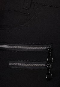 Street One - SLIM FIT  - Trousers - schwarz - 2