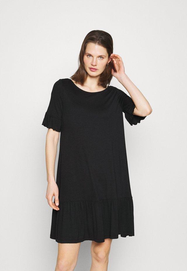 DRESS ALIN - Žerzejové šaty - black