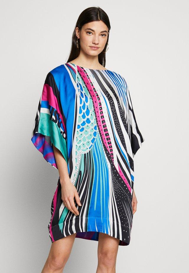 Korte jurk - blue variant