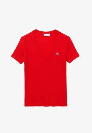 Basic T-shirt - rouge