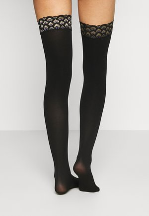 VELVET  - Over-the-knee socks - black