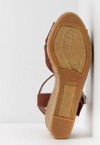 Castañer - BLAUDELL - Sandály na vysokém podpatku - marron - 6