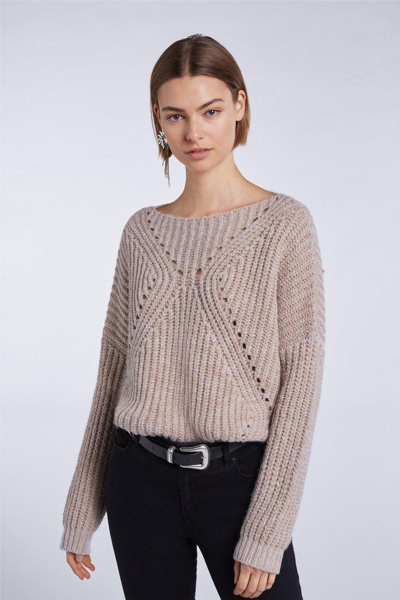 SET - Sweatshirt - beige