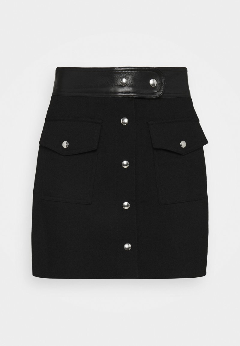 The Kooples - SKIRT - Minisukně - black