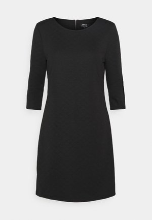 ONLJOYCE 3/4 DRESS  - Jersey dress - black
