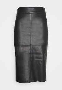 Dorothy Perkins - MIDI SKIRT - Pencil skirt - black - 0