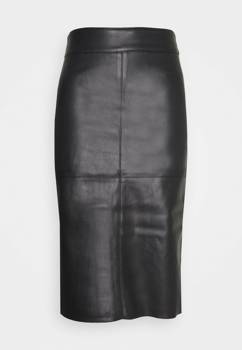 Dorothy Perkins - MIDI SKIRT - Pencil skirt - black