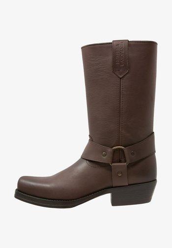 Cowboy/Biker boots - marron