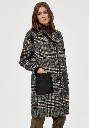 JUNE  - Classic coat - checked