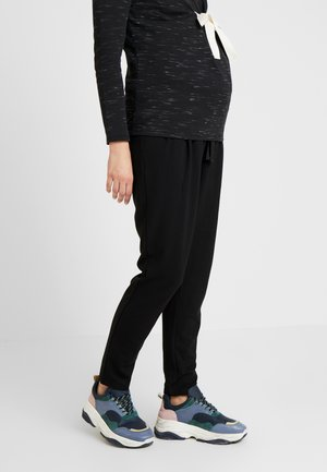 MLLIF PANTS - Spodnie materiałowe - black