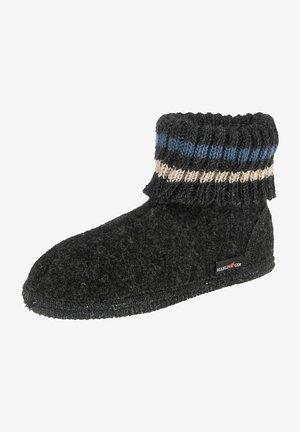 HÜTTENSCHUHE PAUL  - Slippers - graphit